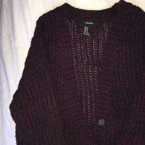 Sweater/Cardigan (Maroon)